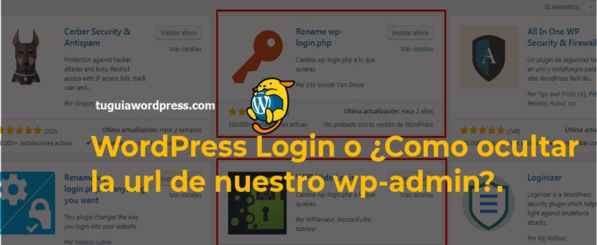 wordpress login-ocultar wp-login