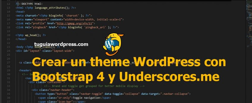 crear un theme wordpress